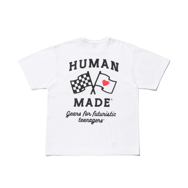 Pocket T-Shirt #3 - White-Human Made-SUPPLIES & COMPANY