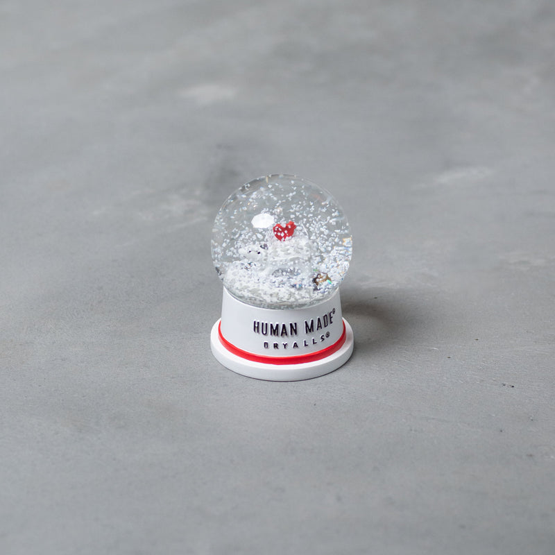 Polar Bear Snow Dome - Red-Human Made-SUPPLIES & COMPANY