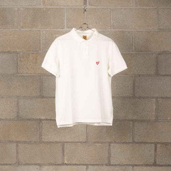 Human Made Polo Shirt - White SUPPLIES AND CO