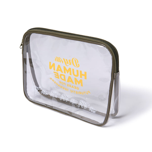 PVC Pouch L - Clear-Human Made-SUPPLIES & COMPANY