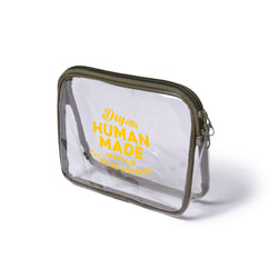 PVC Pouch M - Clear-Human Made-SUPPLIES & COMPANY