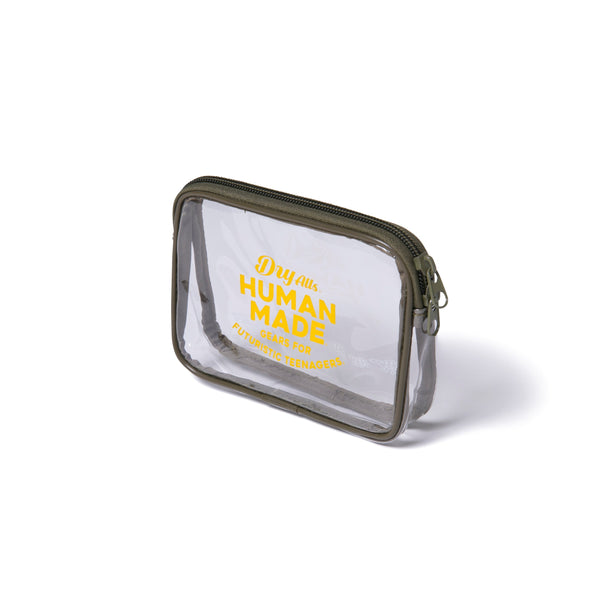PVC Pouch S - Clear-Human Made-SUPPLIES & COMPANY