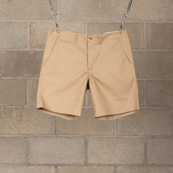 Human Made PW Work Chino Shorts - Beige SUPPLIES AND CO