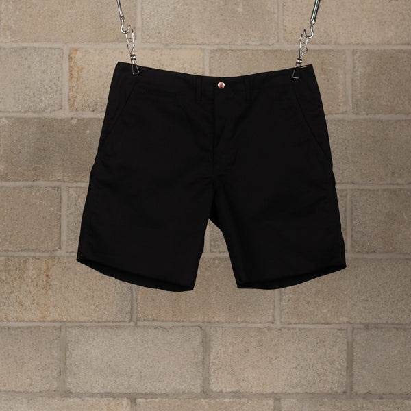 Human Made PW Work Chino Shorts - Black SUPPLIES AND CO