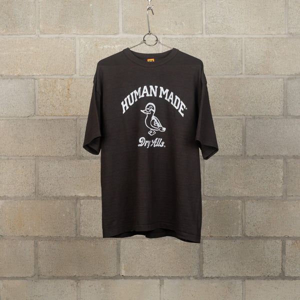 Human Made T-Shirt #1819 - Black SUPPLIES AND CO