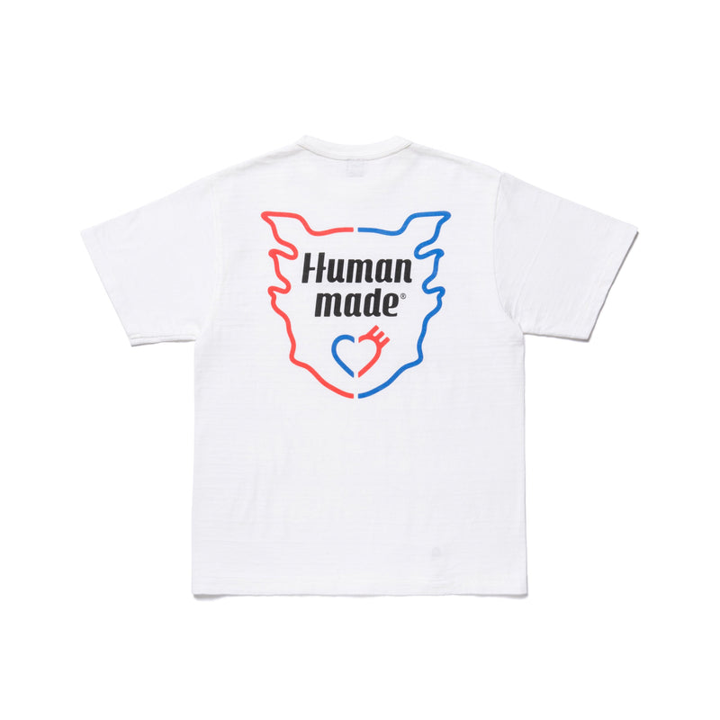 T-Shirt #1912 - White-Human Made-SUPPLIES & COMPANY