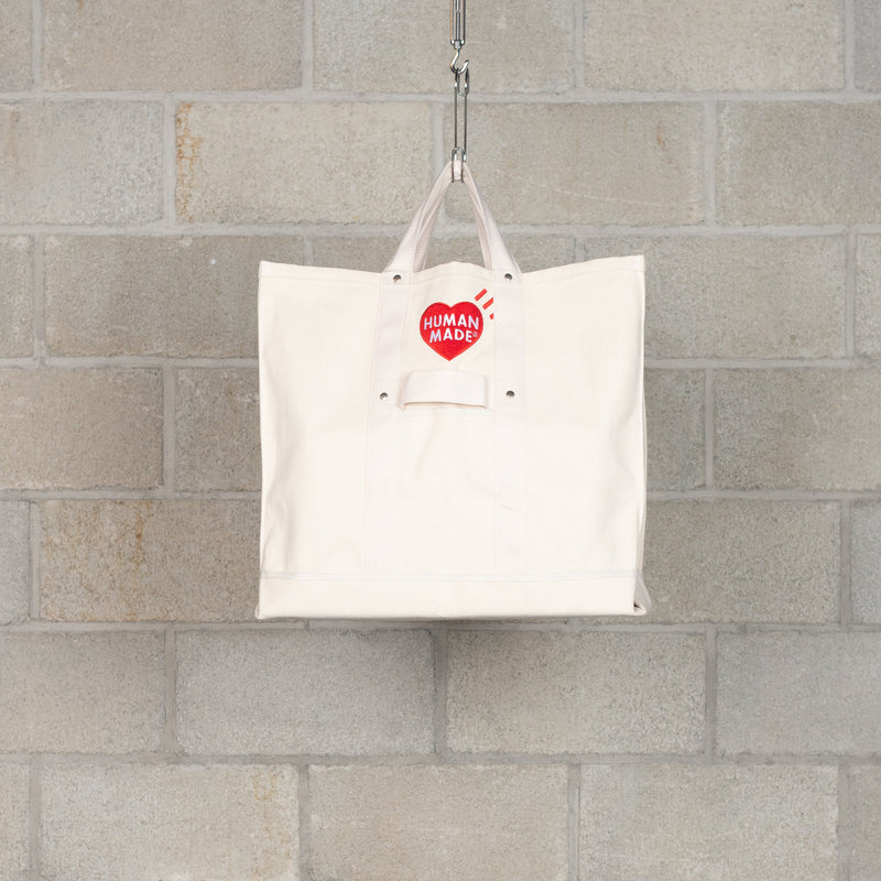 Tote Bag / Large - White-Human Made-SUPPLIES & COMPANY