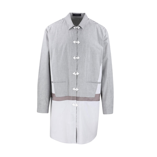 JohnUNDERCOVER Contrast Panel Long Shirt SUPPLIES AND CO