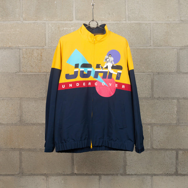 JohnUNDERCOVER JUW4203 Logo Track Jacket SUPPLIES AND CO