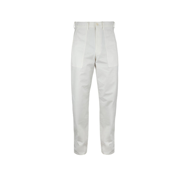 JohnUNDERCOVER Relaxed Fit Trousers (Off White) SUPPLIES AND CO