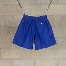 Athletic Wide Shorts - Blue-Kaptain Sunshine-SUPPLIES & COMPANY