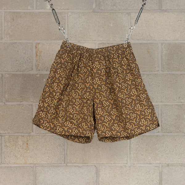 Athletic Wide Shorts - Dark Olive-Kaptain Sunshine-SUPPLIES & COMPANY
