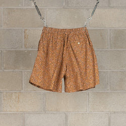 Athletic Wide Shorts - Sand Beige-Kaptain Sunshine-SUPPLIES & COMPANY