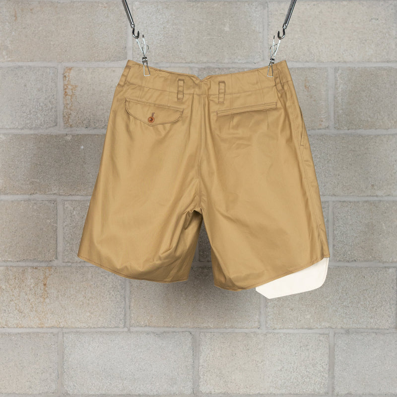 20SBM-P01131 Shorts - Beige-kolor / BEACON-SUPPLIES & COMPANY