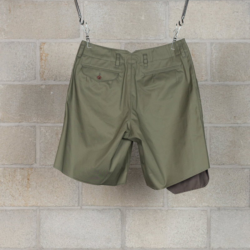 20SBM-P01131 Shorts - Olive-kolor / BEACON-SUPPLIES & COMPANY