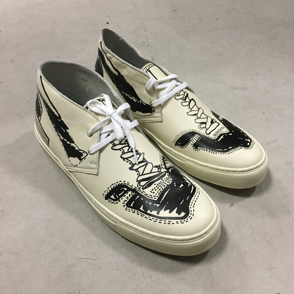 Printed Desert Shoes - Ivory-kolor / BEACON-SUPPLIES & COMPANY