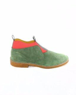 Slip On Desert Boots - Green / Multi-Kolor Beacon-SUPPLIES & COMPANY