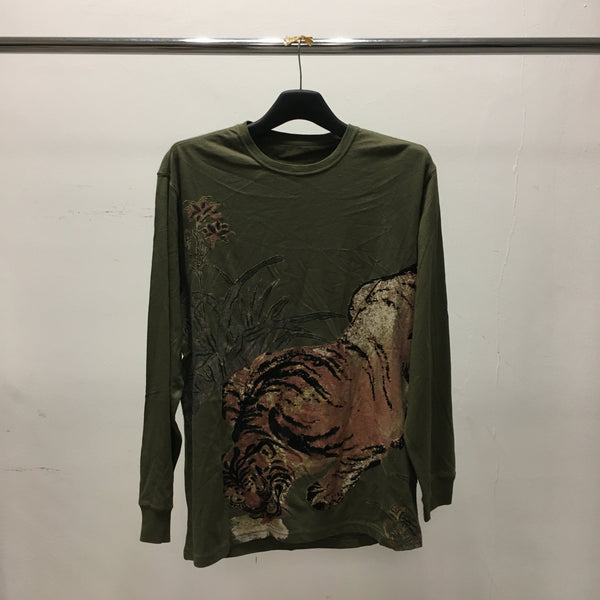 Vintage Tiger L/S T-Shirt-Maharishi-SUPPLIES & COMPANY