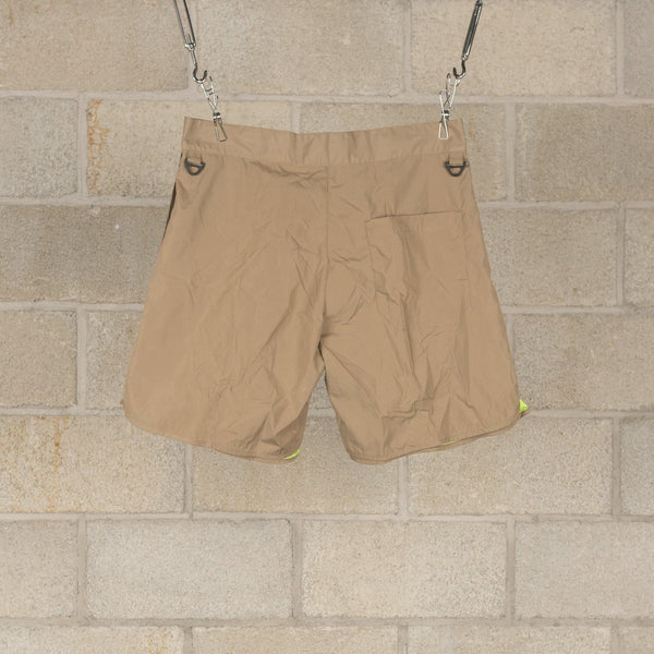 Equipment Board Shorts - Tan-meanswhile-SUPPLIES & COMPANY