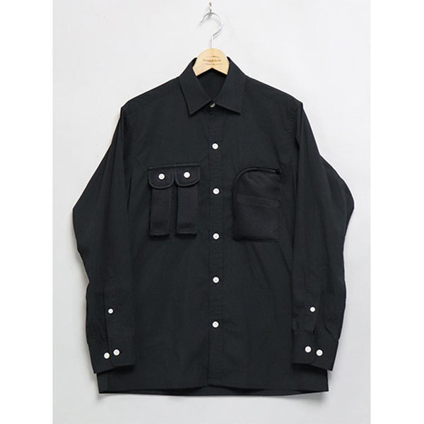 Fishing Shirt - Black-Mountain Research-SUPPLIES & COMPANY