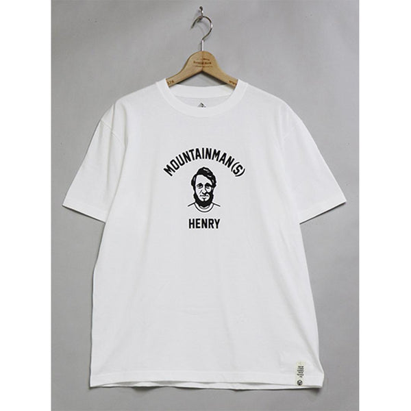 HENRY (4 Heads) T-Shirt - White-Mountain Research-SUPPLIES & COMPANY