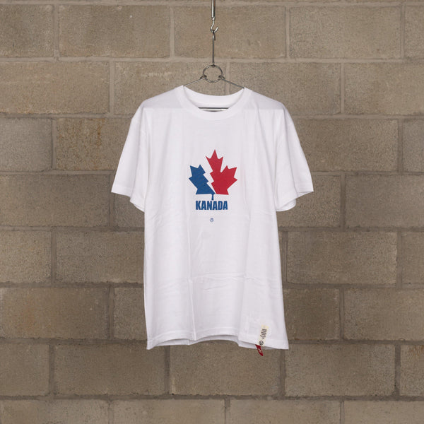 KND T-Shirt (Kanada Icon) - White / Blue / Red-Mountain Research-SUPPLIES & COMPANY