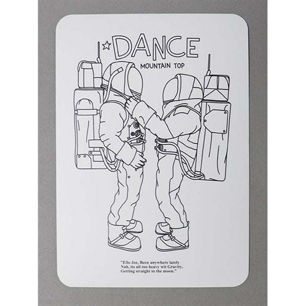 Magnet Sheet / DANCE - White-Mountain Research - Little Summer Camp-SUPPLIES & COMPANY