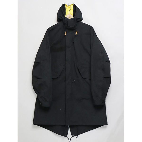 M-65 Parka - Black-Mountain Research-SUPPLIES & COMPANY