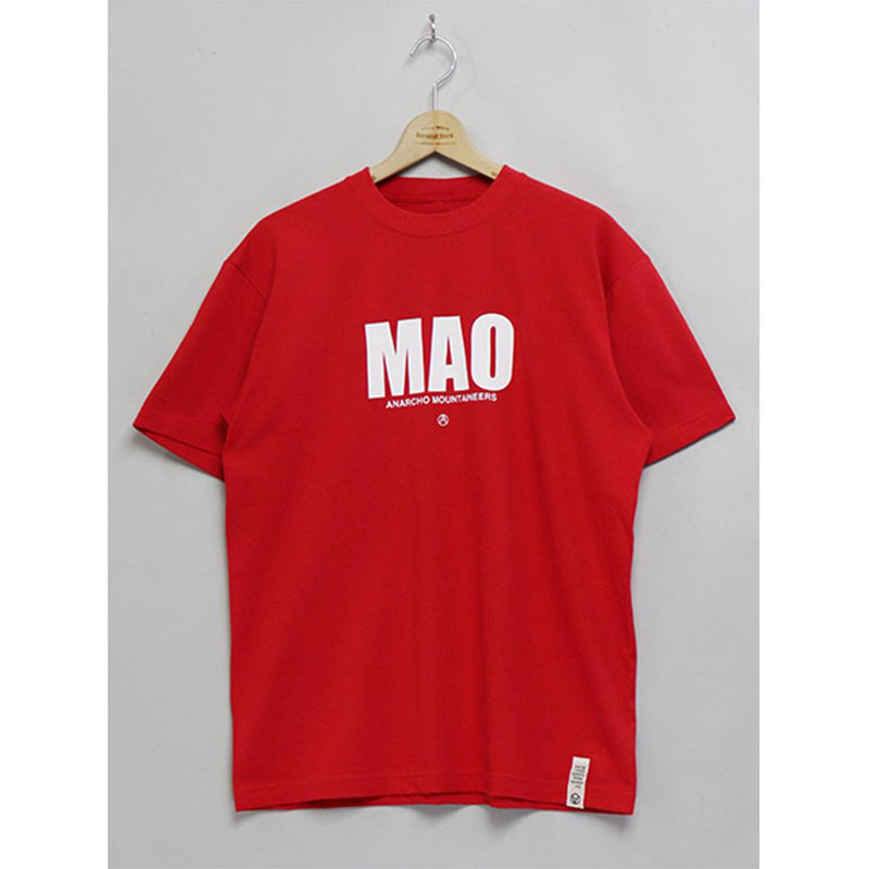 MAO Short Sleeve T-Shirt - Red-Mountain Research-SUPPLIES & COMPANY