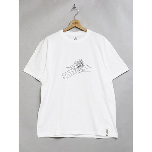 Mountain Man(s) (Canoe) T-Shirt - White-Mountain Research-SUPPLIES & COMPANY