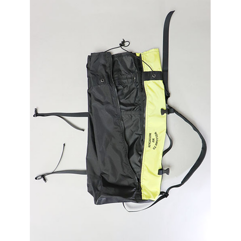 One Shoulder Bag - Black / Yellow