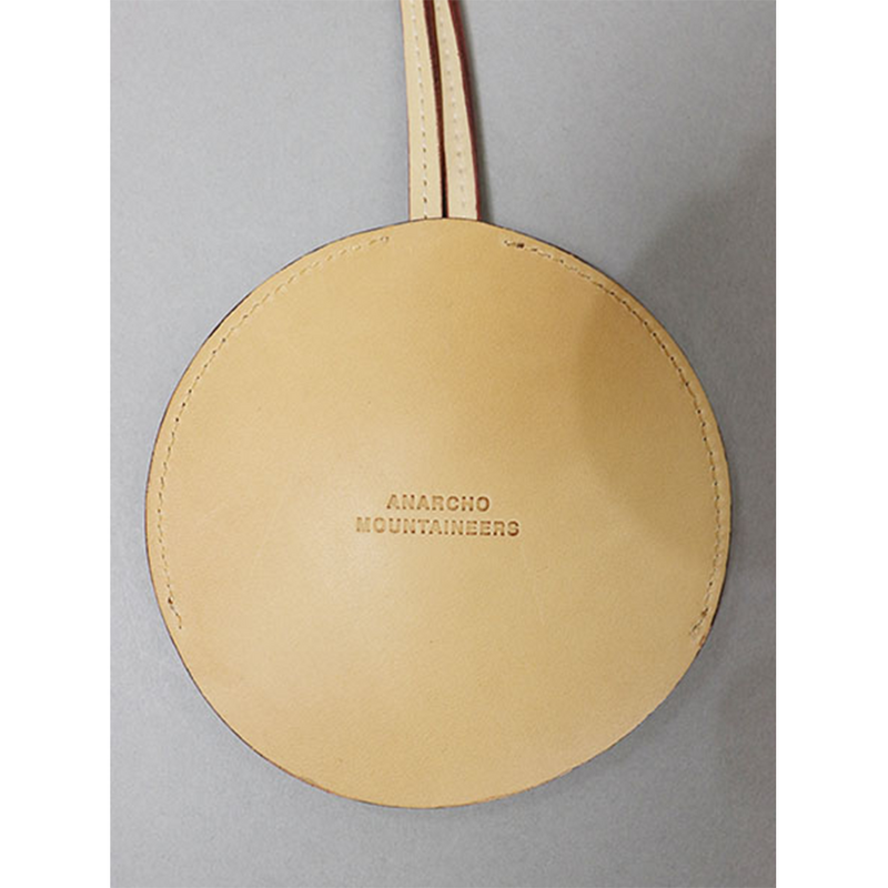 Round Key Case - Beige