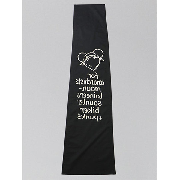 Slogan Stole - Black-Mountain Research-SUPPLIES & COMPANY