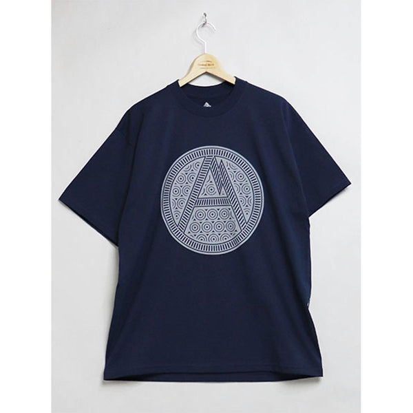 Tribal A T-Shirt - Navy