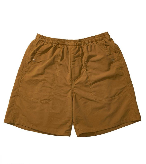 ALPHADRY Easy Shorts - Ocher-nanamica-SUPPLIES & COMPANY