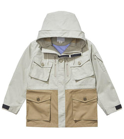 GORE-TEX® Cruiser Jacket - Pale Grey / Beige-nanamica-SUPPLIES & COMPANY