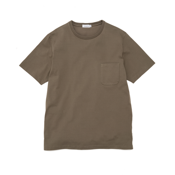 nanamica H/S Pocket T-Shirt - Khaki SUPPLIES AND CO