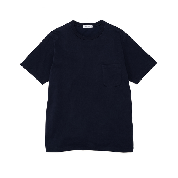 nanamica H/S Pocket T-Shirt - Navy SUPPLIES AND CO