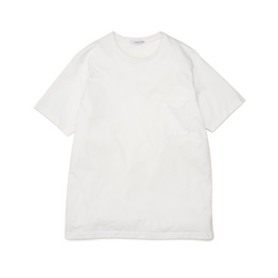nanamica H/S Pocket T-Shirt - White SUPPLIES AND CO