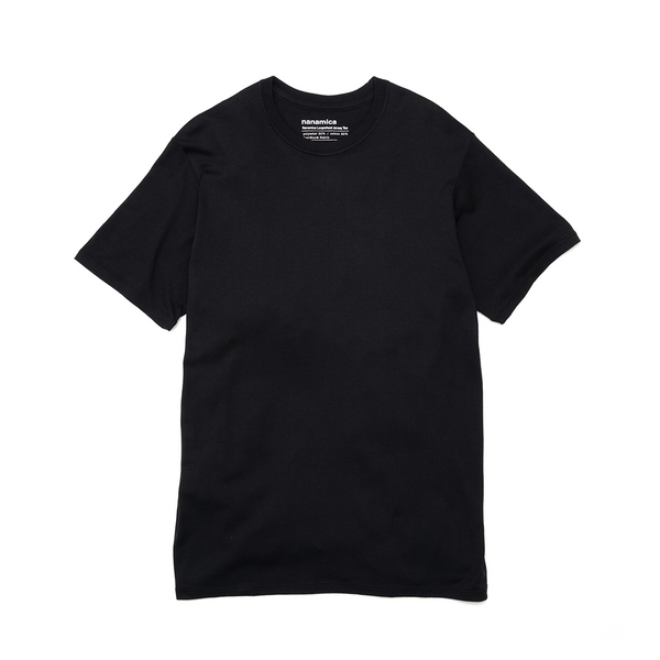 nanamica nanamica Loopwheel COOLMAX Jersey T-Shirt - Black SUPPLIES AND CO