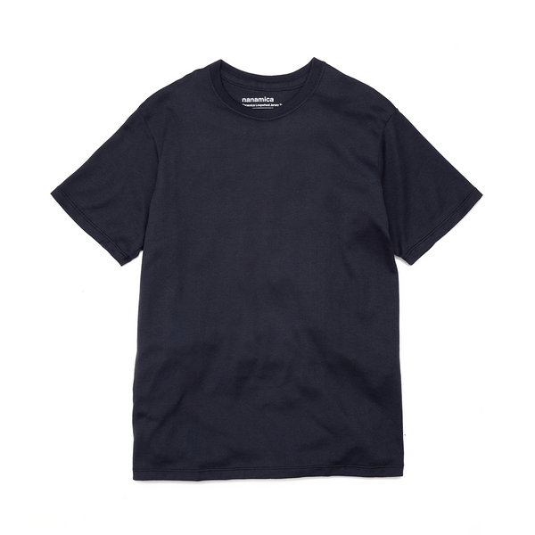 nanamica nanamica Loopwheel COOLMAX Jersey T-Shirt - Navy SUPPLIES AND CO