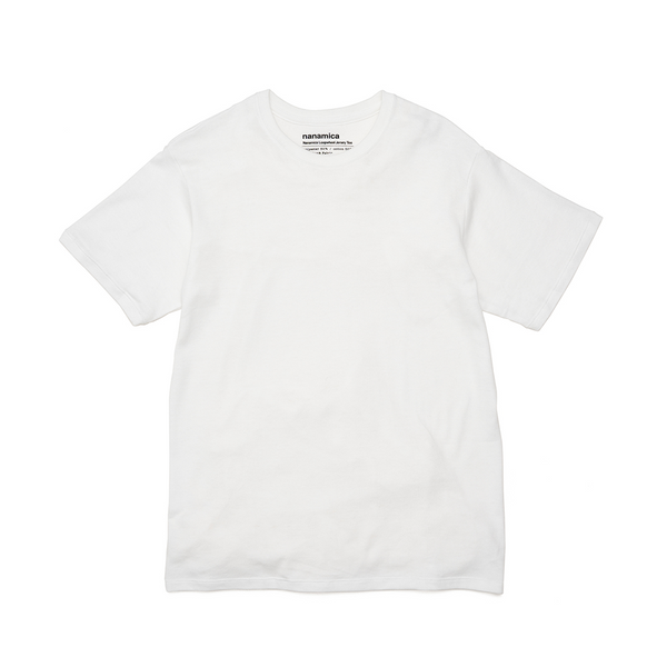 nanamica nanamica Loopwheel COOLMAX Jersey T-Shirt - White SUPPLIES AND CO