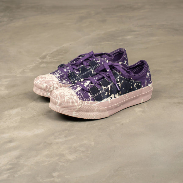 Asymmetric Ghillie Sneaker - Purple / White-Needles-SUPPLIES & COMPANY
