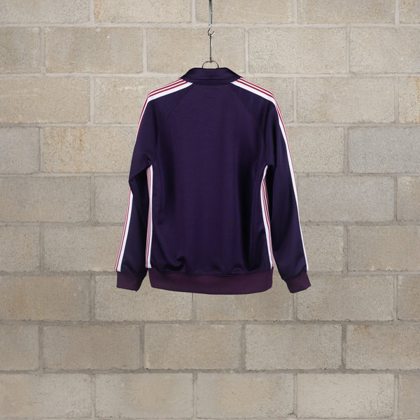 Needles Track Jacket - Poly Smooth - Eggplant SUPPLIES AND CO