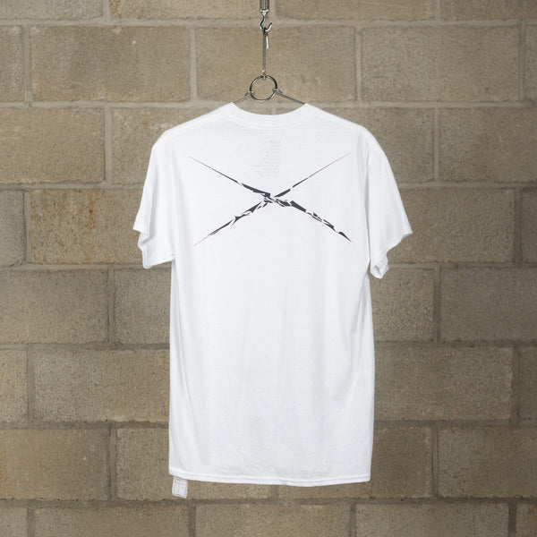 3 Flags T-Shirt - White / Black-NEXUSVII.-SUPPLIES & COMPANY