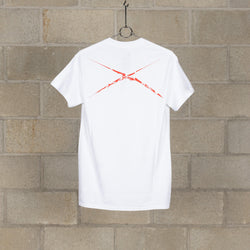 3 Flags With Akira T-Shirt - White / Red-NEXUSVII.-SUPPLIES & COMPANY