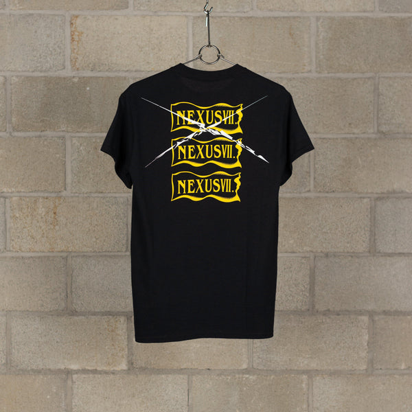 NXVII. IS HERE T-Shirt - Black / Yellow-NEXUSVII.-SUPPLIES & COMPANY