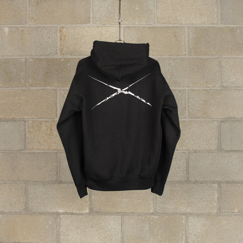 Shadow Mickey Pullover Hoody - Black-NEXUSVII.-SUPPLIES & COMPANY