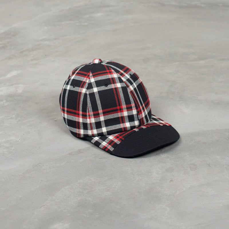 1201-AC08 Cap - Black Check-N.Hoolywood-SUPPLIES & COMPANY