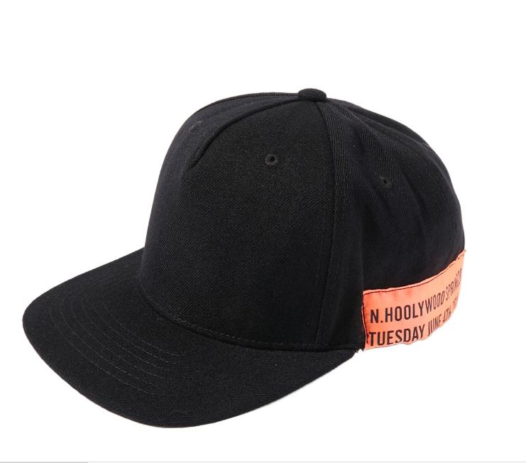 1201-AC80 Cap - Black-N.Hoolywood-SUPPLIES & COMPANY